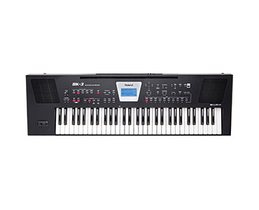 ROLAND BK-3 Backing Keyboard Schwarz