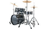 SONOR Smart Force Xtend Studio Drumset, Black - ohne Hocker