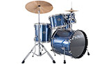 SONOR Smart Force Xtend Studio Drumset, Brushed Blue